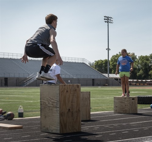 Cole On Highest Plyo Box